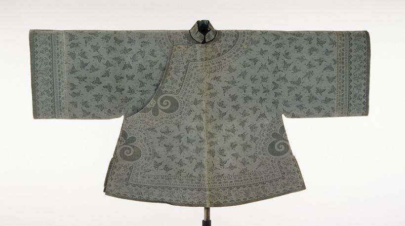 Chinese woman's jacket early 1900s Quing Dynasty
